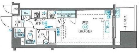 フェニックス川崎弐番館 / 606 部屋画像1