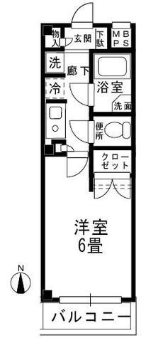 カミーリア / 3階 部屋画像1