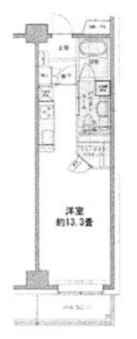 エコロジー豊洲プロセンチュリー / 1階 部屋画像1
