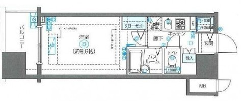 フェニックス川崎弐番館 / 12階 部屋画像1