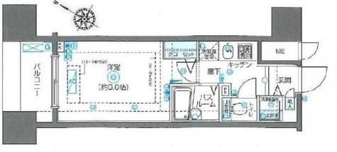 フェニックス川崎弐番館 / 904 部屋画像1
