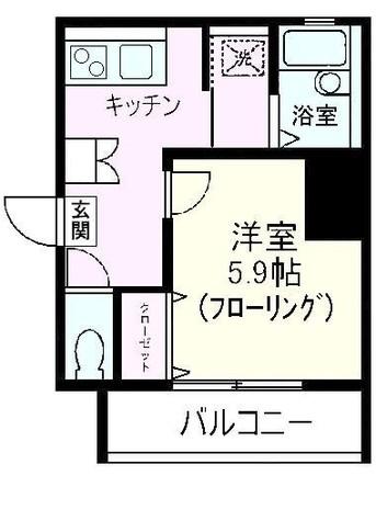 ツインバレー東神奈川 / 2階 部屋画像1
