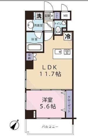 ガーラ神田岩本町 / 2階 部屋画像1