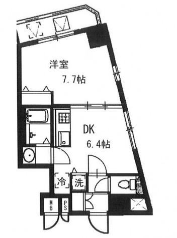 KDXレジデンス元浅草 【旧 コート元浅草】 / 4階 部屋画像1