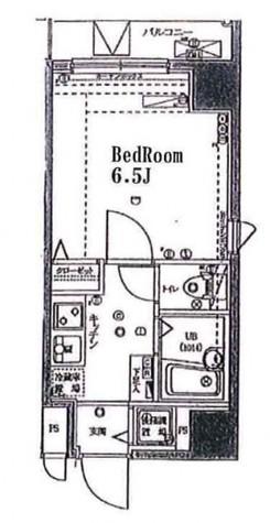 シンシアフォーディ幡ヶ谷 / 8階 部屋画像1