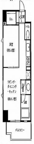 ベルファース本郷弓町(Balle Face本郷弓町) / 5階 部屋画像1