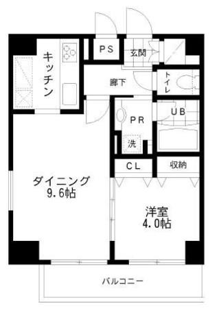レジディア文京本郷Ⅱ / 11階 部屋画像1