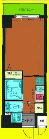 HF東神田レジデンス(旧エルミタージュ東神田) / 1103 部屋画像1