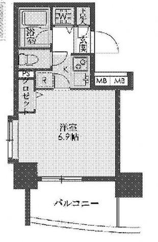アーバネックス戸越銀座(旧:ステイシス戸越銀座) / 9階 部屋画像1