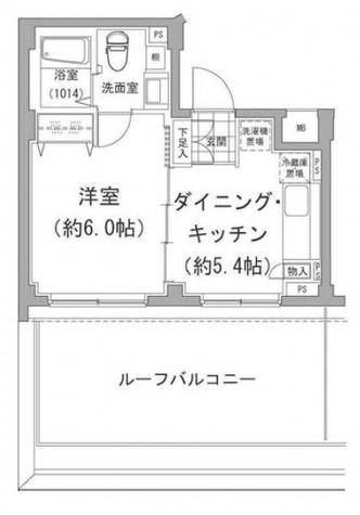 アーデン目黒不動前(旧パークハビオ目黒不動前) / 505 部屋画像1