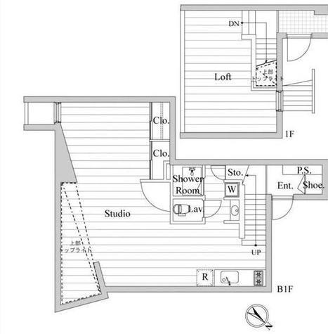 レジディア南青山 / 1階 部屋画像1