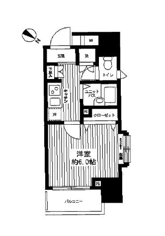 パレステュディオ五反田駅前 / 6階 部屋画像1