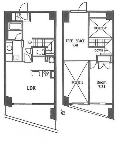 コンフォリア芝浦バウハウス / 1404 部屋画像1