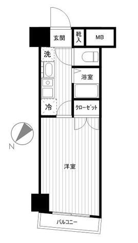 ステージファースト神田 / 7階 部屋画像1