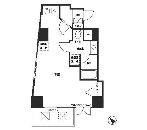 レジディア恵比寿 / 5階 部屋画像1