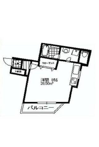 グランデュオ松濤 / 1B 部屋画像1