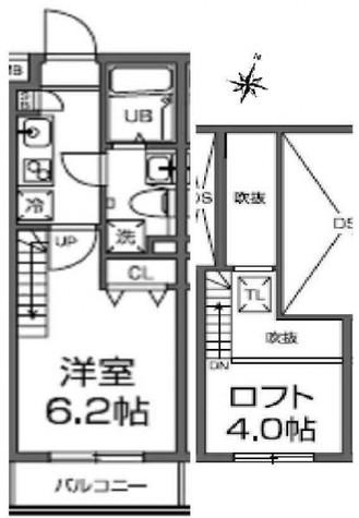 コンフォリア西大井 / 4階 部屋画像1