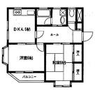 ヨコスカビルⅡ / 402 部屋画像1