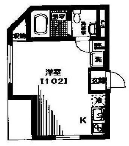 サクラディアⅢ / 102 部屋画像1
