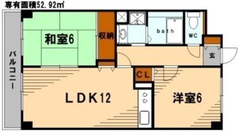 KDXレジデンス鶴見 / 409 部屋画像1