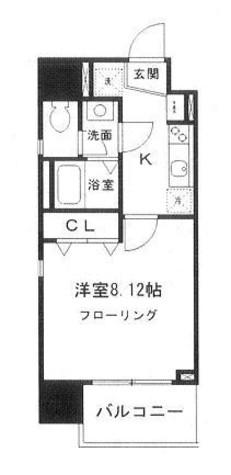 らく万築地ビル / 4階 部屋画像1