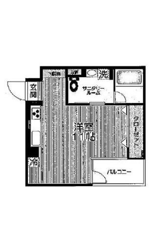 イーストガーデン / 3階 部屋画像1