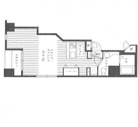 半蔵門 1分マンション / 8階 部屋画像1