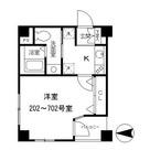 プルナス入谷 / 5階 部屋画像1