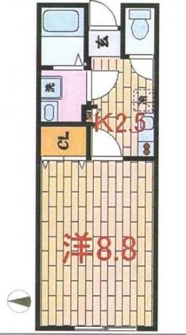 自由が丘O-Flat(オーフラット) / 1階 部屋画像1