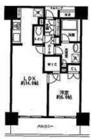 グレンパークG-WEST / 15階 部屋画像1