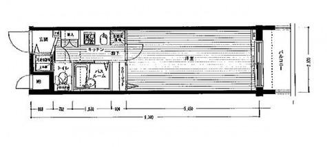 レジディア銀座東 / 507 部屋画像1