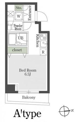 プレミアステージ芝公園Ⅱ / 8階 部屋画像1