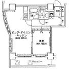 MG目黒駅前(旧:アイオス目黒駅前) / 1006 部屋画像1