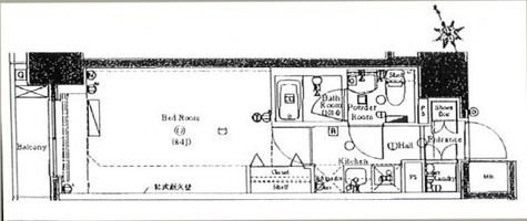 ブレシア銀座イースト / 7階 部屋画像1