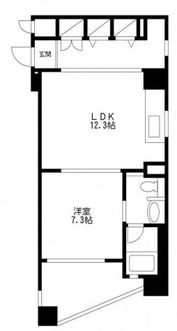 レジディア島津山(旧アルティス島津山) / 6階 部屋画像1
