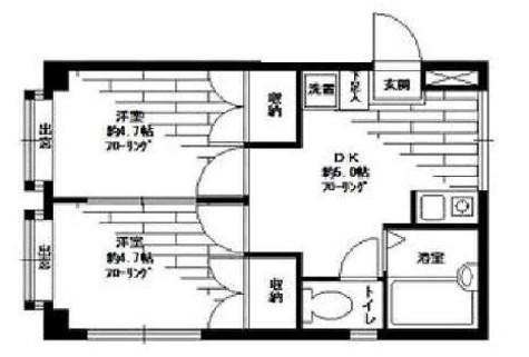 ヒルズ深沢 / 2階 部屋画像1