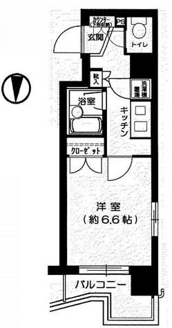 パレステュディオ三田 / 201 部屋画像1