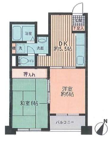 プライムアーバン勝どき(旧アーバンステージ勝どき) / 101 部屋画像1