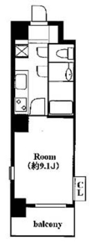 メイクスデザイン茅場町 / 3階 部屋画像1