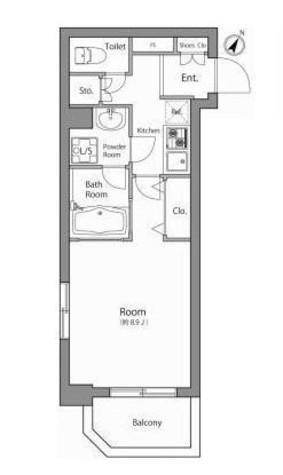 KWレジデンス森下 / 6階 部屋画像1