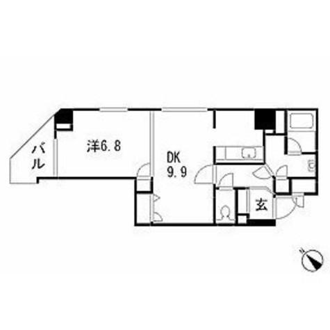 銀座レジデンス弐番館 / 10階 部屋画像1