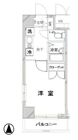 OLIO渋谷西原 / 205 部屋画像1