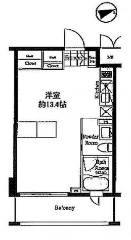 ベルファース戸越 / 4階 部屋画像1