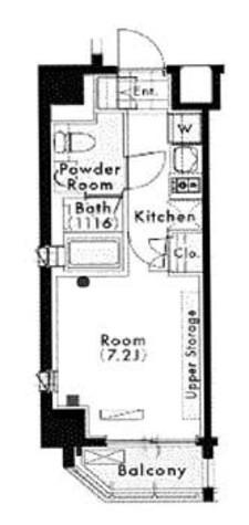 マスターズコート木場公園ブラン / 2階 部屋画像1