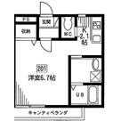 トレソーニ自由ヶ丘 / 201 部屋画像1