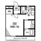 トレソーニ自由ヶ丘 / 202 部屋画像1