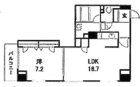 銀座レジデンス弐番館 / 12階 部屋画像1