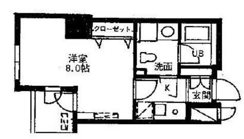 ドゥーエ幡ヶ谷(旧ウインベルプラザ幡ヶ谷) / 14階 部屋画像1