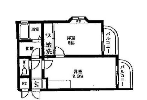 サンライズ松本No.6 / 3階 部屋画像1