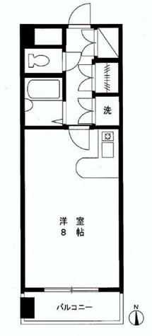 戸越ポイント / 306 部屋画像1